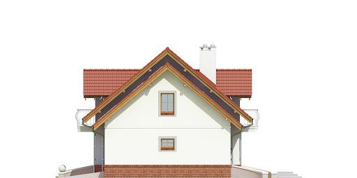 Dom Dla Ciebie 1 w2 z garażem 2-st. A1 - Elewacja prawa