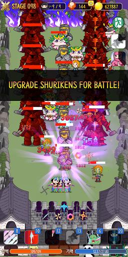 NINJA SHURIKEN - Legend Defense screenshot 1