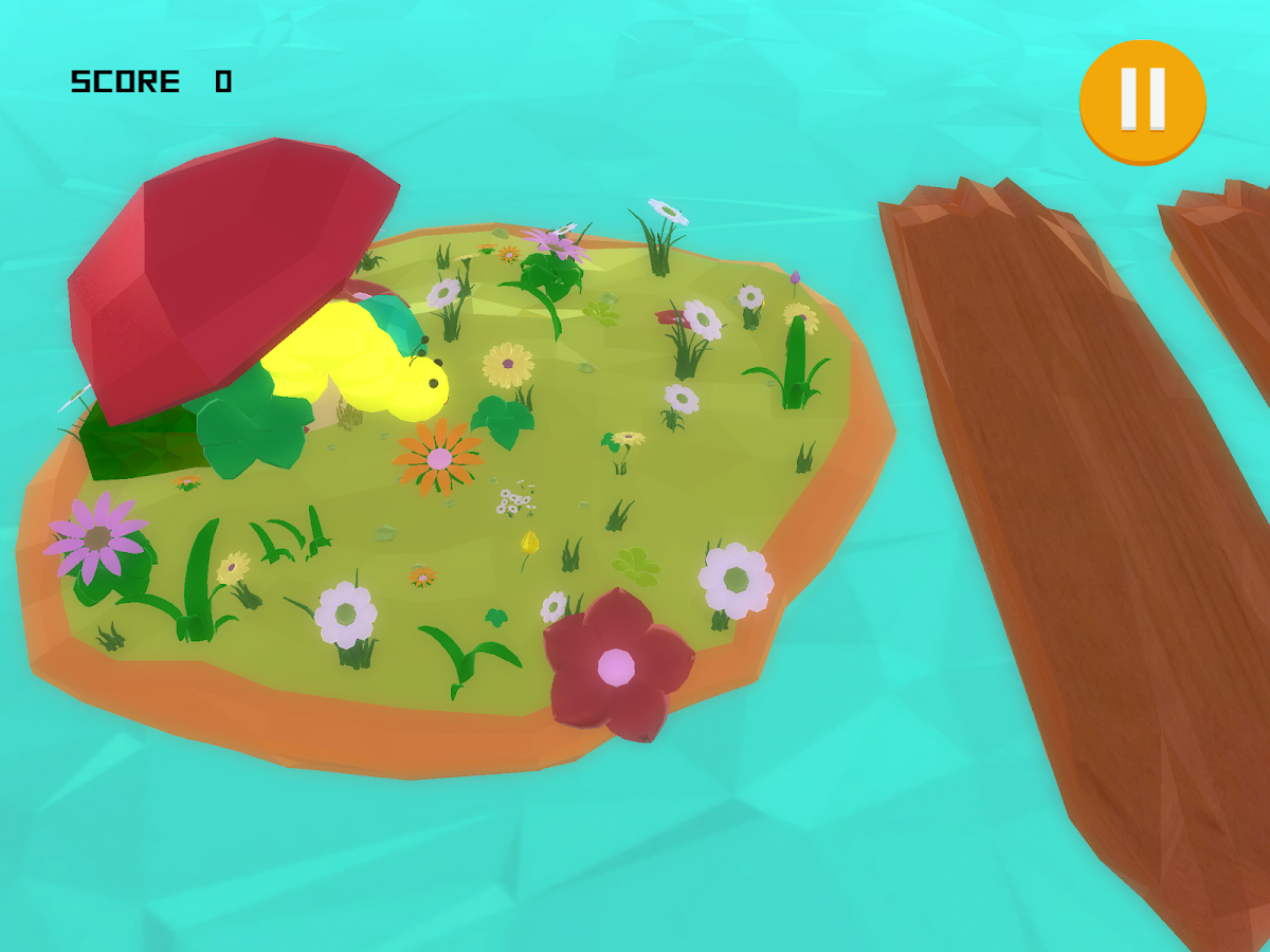Crawly the Caterpillar- screenshot