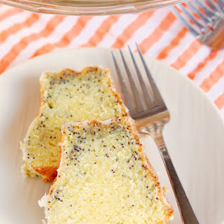 Triple Citrus Poppy Seed Cake