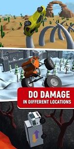 Crash Delivery! Destruction & smashing flying car! 4