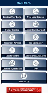 mPassport Seva App Download For Android and iPhone 5