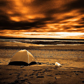 Camp by J Delos Santos - Landscapes Beaches ( pwcotherworldly,  )