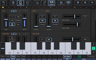 Screenshot of G-Stomper Studio