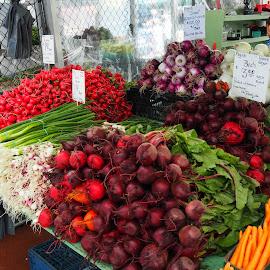 Fresh Vegetables by David Gilchrist - City,  Street & Park  Markets & Shops ( market, vegetables, ottawa, vegetable, byward market )