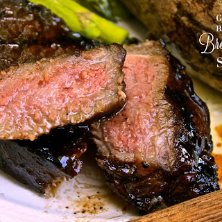 Garlic Balsamic Brown Sugar Steaks.
