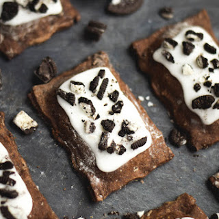 Cookies and Cream Chocolate Pop-Tarts