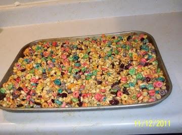 Cheerio Nugget Crunch  Candies..  For Chris C. Recipe
