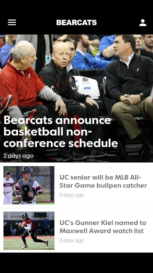 Cincinnati Bearcats- screenshot
