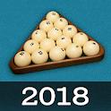 Russian Billiard 2018 - pyramid, 8 ball, snooker icon