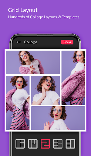 Photo Collage & Grid Maker With Photo Editor & PIP 7.7 screenshots 3