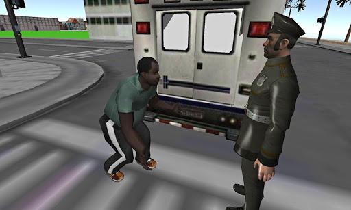 犯罪の3D通り:車泥棒