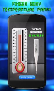 Finger tělesné teploty žert - náhled