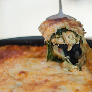 Italian Tuna Lasagna.