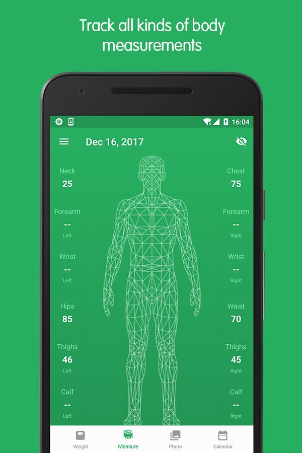 Weight Track Assistant - Free weight tracker Screenshot 1