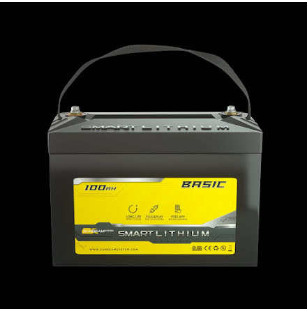 Smart LITHIUM Basic 12V 100Ah (2-pack)