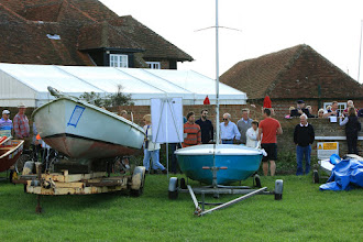 Photo: An auction at Bosham Sailing Club for various items including some dinghies, and a framed picture of the America's Cup signed by the BAR team which fetched £500 for the Andrew Simpson Sailing Foundation.