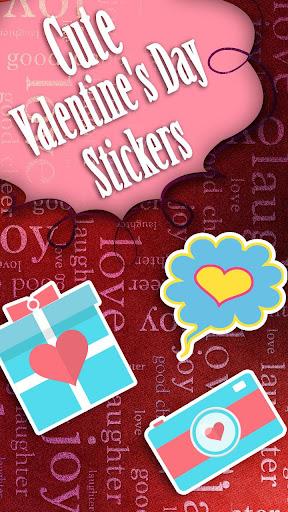 情人节可爱的贴纸