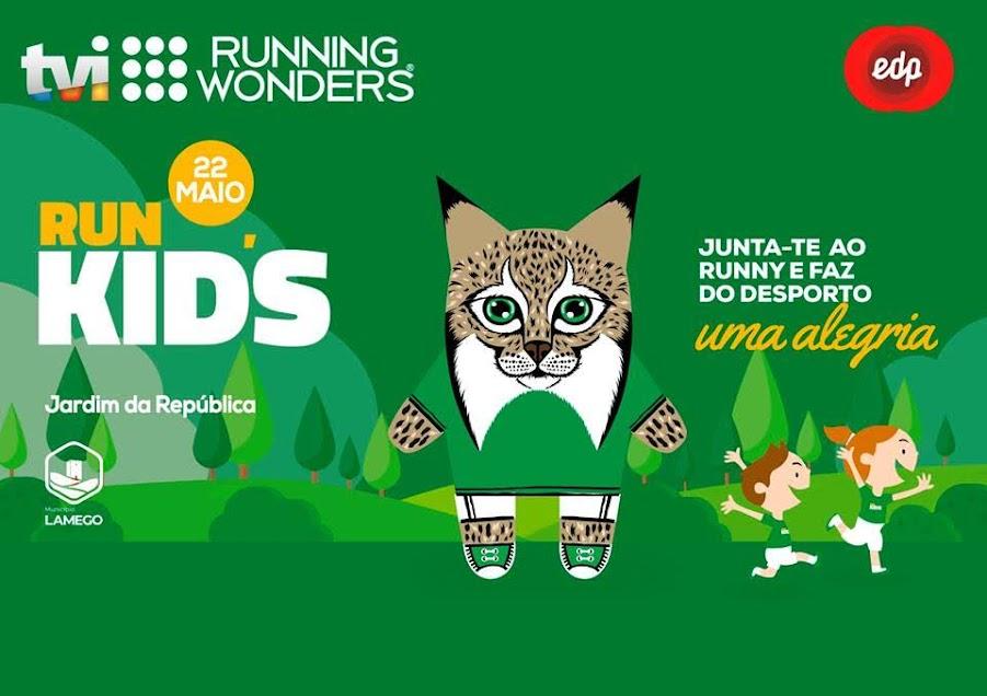 Crianças do 1º ciclo correm a Run Kids no Jardim da República