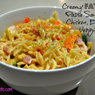 Low Fat Creamy Pasta Sauce.