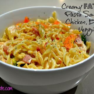 Low Calorie Creamy Pasta Sauce Recipes.