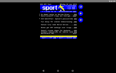 SVT Sport screenshot 5