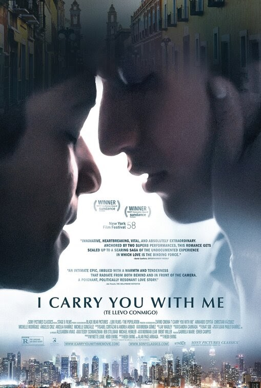 I Carry You with Me official site