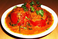 Stuffed Tomato Curry