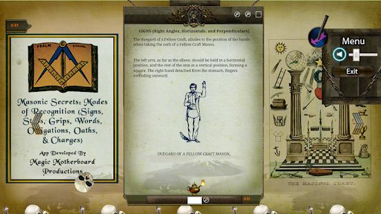 Masonic Secrets: Modes of Recognition screenshot