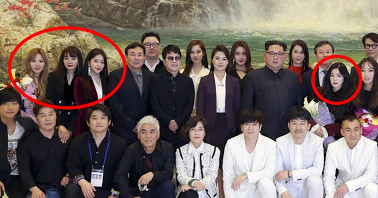 N. Korean Escapee Explains Why Kim Jong Un Made Irene Stand Next To Him