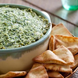 Roasted Kale & Artichoke Dip