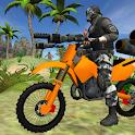 Motorbike Beach Fighter 3D icon
