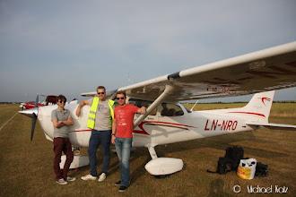 Photo: Flying Legends endelig fremme i Duxford.