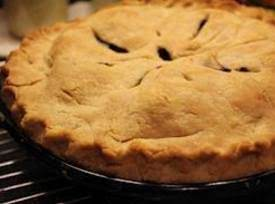 Homemade Best Blueberry Pie