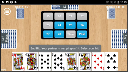 28 Card Game (Twenty Eight) apktreat screenshots 2
