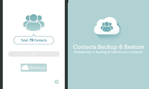 Contact Backup Restore