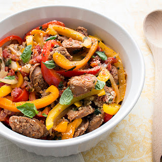 Spicy Italian Sausage and Peppers
