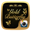 Z CAMERA GOLD BUTTERFLY THEME icon