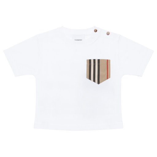 Primary image of Burberry Baby Pocket T-shirt