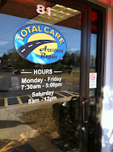 Photo: Total Care Accident Repair Service in Raynham, MA proudly displaying their BBB Accreditation