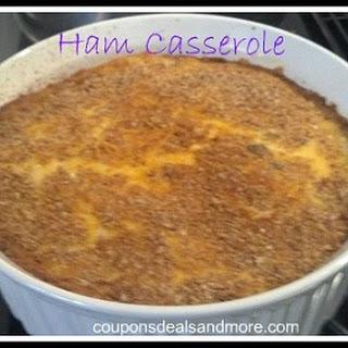 Ham Casserole