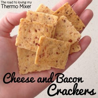 Cheese and Bacon Crackers.