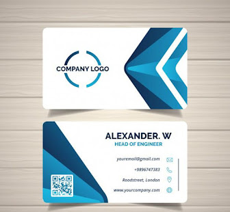 Business card maker free apps on google play screenshot image reheart Choice Image