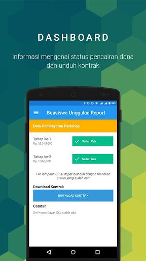 BU Report screenshots 2