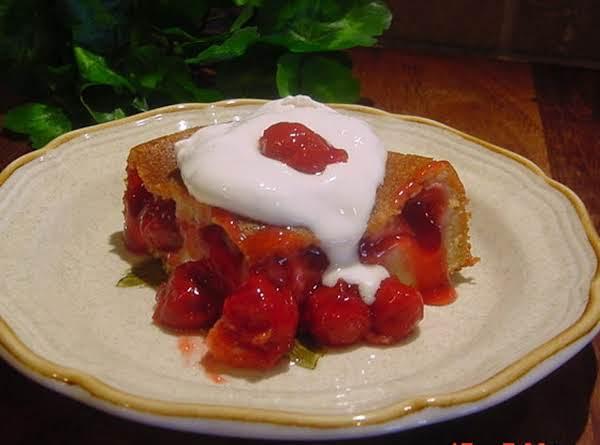 Cherry Upside Down Cake Recipe