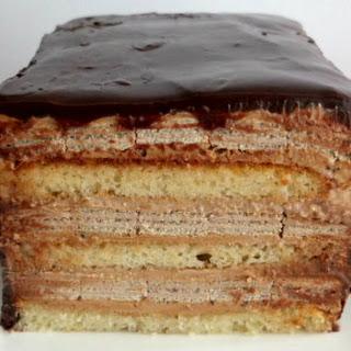 Coffee Crisp Cake