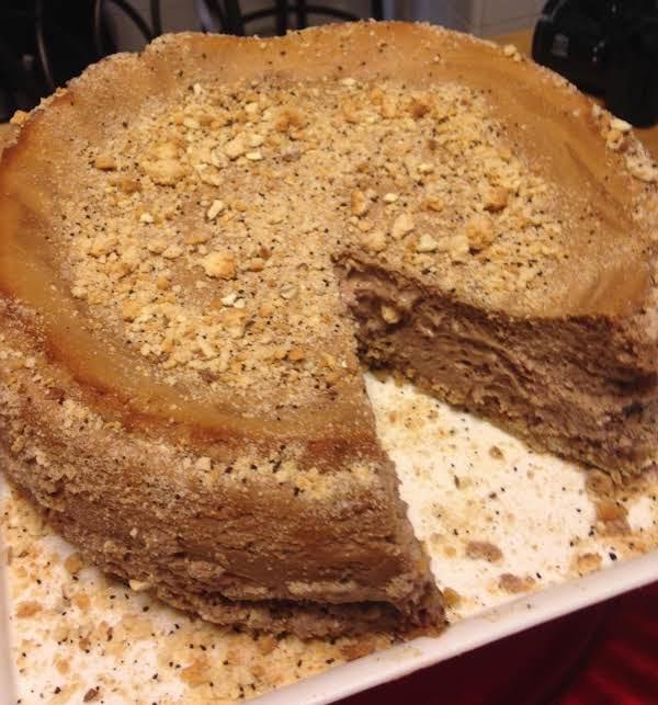 Biscotti Kissed Italian Mocha Cheesecake