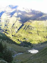 Photo: De Dormillouse à Prapic dernière vision sur la tête de soulaure et la vallée de Freissinières