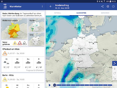WarnWetter screenshot 8