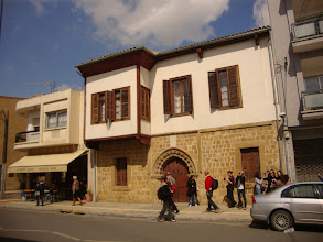 Photo: Medieval houses with Ottoman style in Nicosia